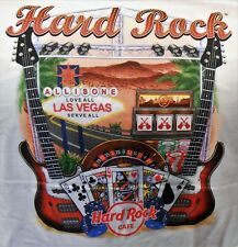 HARD ROCK CAFE LAS VEGAS V17 CITY TEE T-SHIRT SIZE ADULT XX-LARGE - NEW WITH TAG
