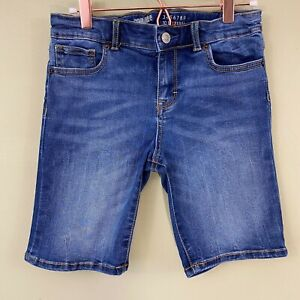 GYMBOREE girls denim Bermuda shorts 12