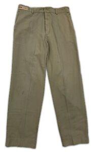 Red Kap Work Pants Gray Black Polyblend Industrial Uniform Mechanic Tech PT20 #B