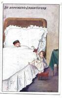 """Feldpostkarte, 1. Weltkrieg, 15.03.1917, """"Die unvermutete Einquartierung"""""""