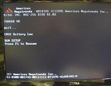 MiTAC MSC-256 P/N: 316022560056 tested