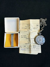 in the box with a passport. Antique Pocket Watch Zaria Great watch! New
