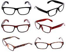 CLOSEOUT  WHOLESALE MEN OPTICAL NEW READING GLASSES LOT 9 ASST MEN +2.25 MR3533
