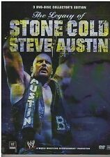 WWE - Stone Cold Steve Austin's Life & Legacy (DVD, 3-Disc Set) {2517}
