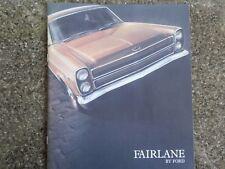 1969 FORD ZC FAIRLANE SALES  BROCHURE.  100% GUARANTEE.