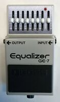 BOSS GE-7 Equalizer Guitar Effects Pedal made in Japan 1982 #238 Free Shipping