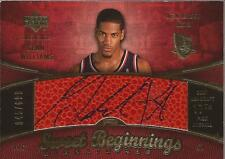 SEAN WILLIAMS 2007-08 Sweet Shot Beginnings Rookie Autograph #/699