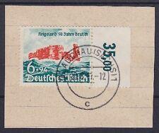 DR Mi Nr. 750 RWZ, gest. Glauchau 191 auf Briefstück, Helgoland Dt. Reich, used