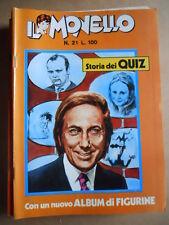 IL MONELLO n°21 1972  Cristall - Fumetto Mike Bongiorno storia dei Quiz  [G391]