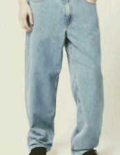 Levis Men jeans Baggy Fit 30 X 32 Light Wash Wide Legs 98$ hip to ankle Nwt new