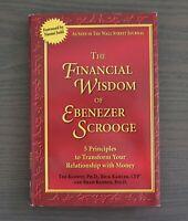 The Financial Wisdom of Ebenezer Scrooge By Rick & Brad Klontz Hardcover Book