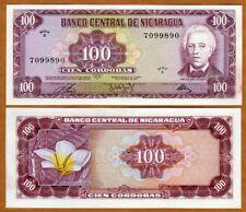 Nicaragua, 100 cordobas, 1972, P-126, C-Serie, Ch. UNC