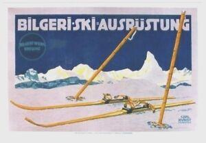 Original vintage poster BILGERI-SKI  MATTERHORN 1905 Kunst