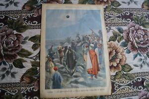 1905 Zeitungsdruck 295 / Astronomie Sonnenfinsternis in Afrika Sfax Tunesien