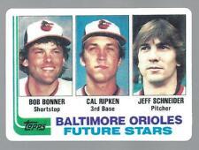 Cal Ripken Jr. 1982 Topps MLB Traded Rookie Porcelain Reprint Card #21