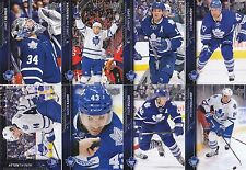 2015-16 Upper Deck Toronto Maple Leafs Complete Series 1 & 2 Team Set 14 Cards