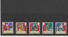 Set 5 GB Great Britain Stamps Gilbert and Sullivan 1992 Mint in folder