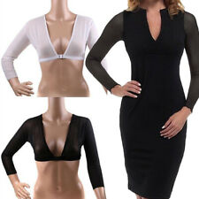 Womens Mesh Sheer Crop Top T-Shirt Sexy Lingerie Sleeveless See Through Bra Vest