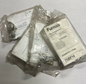 Furnas 75BF14 Replacement Contact Kit Part 00 Lot Of 4 NOS