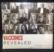 Vaccines Revealed (10 episode AUDIO CD Complete Series Collection 2017) NEW