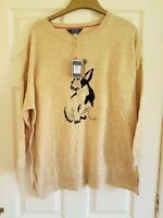 JOULES FRENCH BULLDOG FRENCHIE POOCH  JUMPER SZE 12 WILL FIT 16/18 - BUST 50""