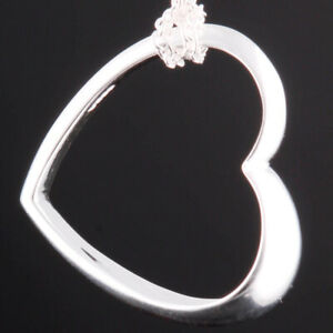 GEORG JENSEN Sterling Pendant # 600A. Silver, Heart of Georg Jensen. NEW!