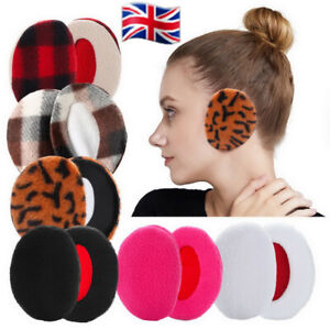 Winter Super Soft Ear Muffs Warmer Ladies Mens Womens Earflaps Cosy Warm Cold