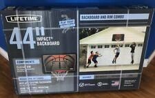 "44"" B 00004000 asketball Backboard Combo System Outdoor Wall Mount Hoop Rim Sports"