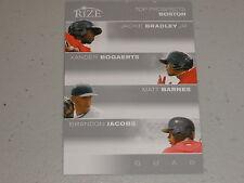 2012 Rize Top Prospects Jackie Bradley Xander Bogaerts Matt Barnes B Jacobs