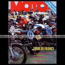 MOTO JOURNAL N°170 HONDA CB 125 JX NOGARO PHILIPPE COULON PATRICK FERNANDEZ 1974