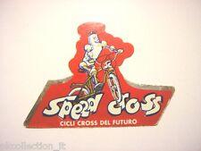 ADESIVO CICLISMO / Sticker Bike SPEED CROSS (cm 9 x 6) cycle bicicletta