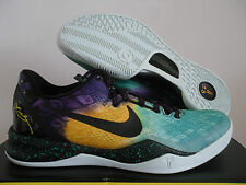 NIKE ZOOM KOBE VIII 8 SYSTEM GREEN-PURPLE-BLACK EASTER!!! SZ 16 [555035-302]