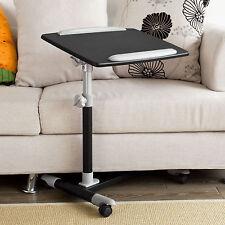 Sobuy table de lit avec Plateau inclinable À hauteur Assistée Fbt07n2-sch FR