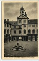 EUTIN ~1930 Großherzogliches Schloss-Hof Castle AK Verlag Photo AK Jens Fissau
