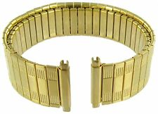 18-22mm Speidel Stainless Gold Tone Metal Watch Band Regular 5454