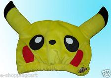Pokemon Pikachu Japanese Plush Fleece Hat Cosplay