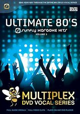 ULTIMATE 80'S VOL 3 - SUNFLY MULTIPLEX KARAOKE DVD - 12 HIT SONGS