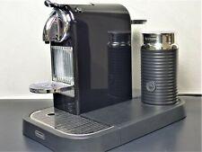 Nespresso EN266BAE Citiz & Milk SCHWARZ Kapselmaschine + Aeroccino Milchschaum