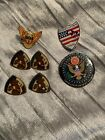 Lot Of 7 Desert Storm Related Pins/button