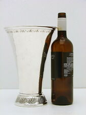 """Giant Swedish Sterling Silver Cup Vase Hallmarked FAM c1927  20.1oz 10""""h"""