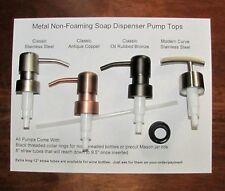 Soap Dispenser Pump Replacement for Wine Liquor Bottle Jack Daniels Mason Jar