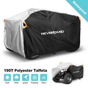 XXXL Waterproof ATV Quad Bike Cover Outdoor Heatproof Rain Protector Fit 4 Wheel