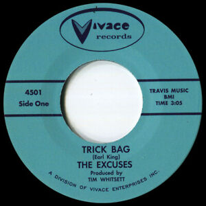 THE EXCUSES TRICK BAG Soul Northern Motown