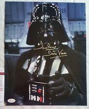 DAVE PROWSE SIGNED 11x14 DARTH VADER STAR WARS JSA COA DAVID Return Jedi 2