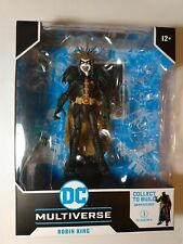 Robin King DC Multiverse Dark Nights Death Metal loose MINT No BAF Darkfather