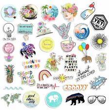 35 Cute Vsco Aesthetic Stickers - Lovely Trendy Positive Good Vibes Flowers