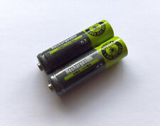 2 Sony AA Ni-Cd Rechargeable Batteries 700 mAh Nickel-Cadmium AA, Made in Japan.