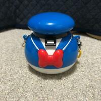 Tokyo Disney Resort Donald Duck Mini Snack Case Limited with a yellow chain