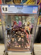 Batman #106 CGC 9.8 1st Cameo Miracle Molly - Jimenez Wraparound Variant - 2021
