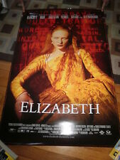 ELIZABETH(1998)CATE BLANCHET LOT OF 5 ORIG ROLLED 1SHEET POSTERS MINT+